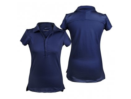 Tričko Polo Luna QHP, dámské, navy