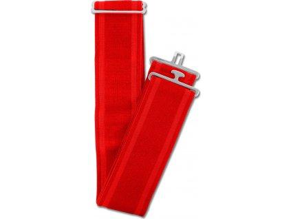 Elastický popruh k dece Waldhausen, red