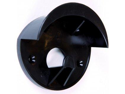 Plastový držák na uzdečky Waldhausen, černý