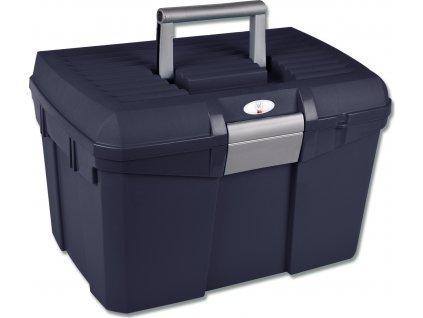 Box na čištění a úpravu hřívy Waldhausen, dark blue/grey