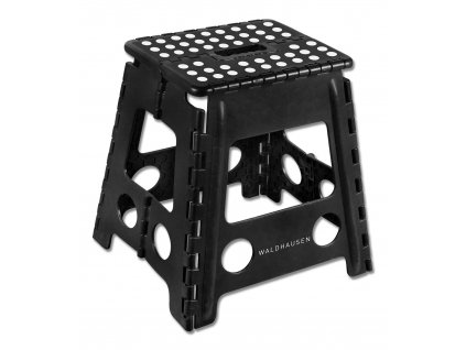 Skládací stolička Waldhausen, černá