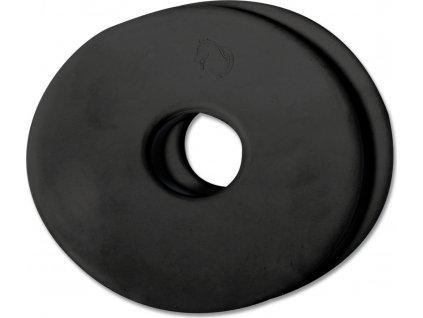 Kroužky na udidlo, pár, Waldhausen, černé