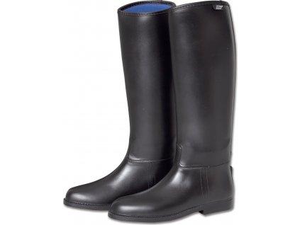 Jezdecké boty Comfort L, ELT, černé