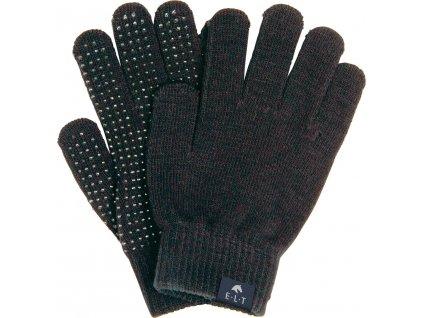 Rukavice Grippy ELT, one size, zimní, černé