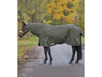 Deka výběhová fleece Economic Waldhausen, camouflage green