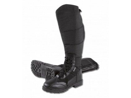 Zateplené boty Elegance, ELT, černé