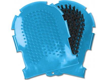 Rukavice čistící Waldhausen, azure blue
