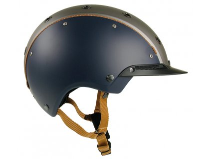 Casco Champ 3 Blue Silver Side 6314