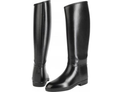 Boty vysoké jezdecké Happy Boot USG, zimní, unisex, černé