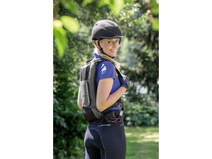 Chránič páteře airbagový V Zero Equi Airbag® USG, černý