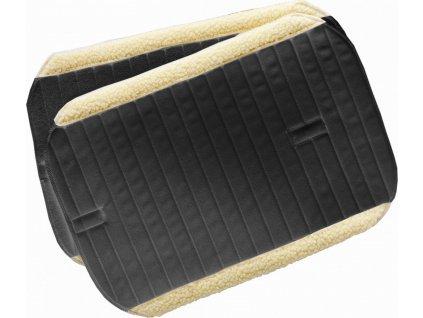 Podložky pod bandáže s umělým beránkem USG, černé