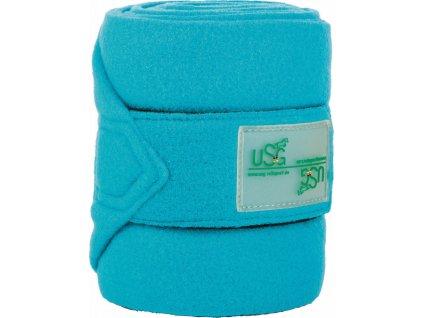 Bandáže fleecové 4ks CHIC USG, light blue
