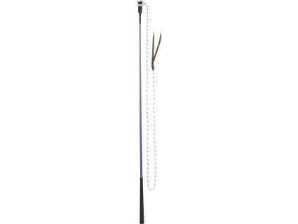 Bič/ hůlka 1,2m na práci ze země USG, purple