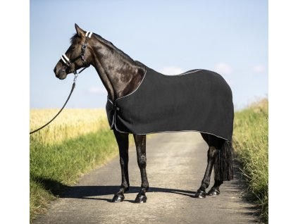 Deka odpocovací fleece USG, černá