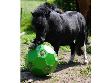 Happy Hay Play SHETTY- míč na seno, zelený