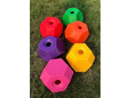 Míč na pamlsky Happy Treat Ball USG, modrý