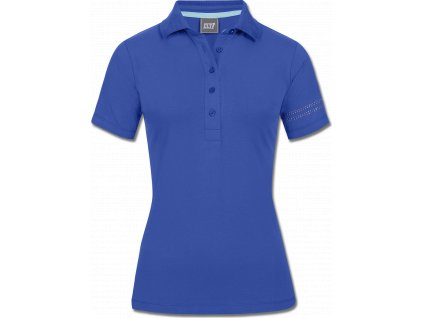 Tričko polo Bilbao ELT, mediterranean blue