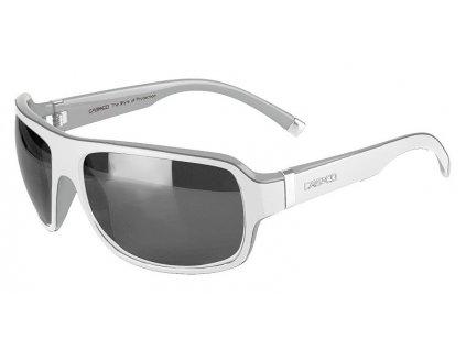 Casco SX 61 BiColor White Silver 2017