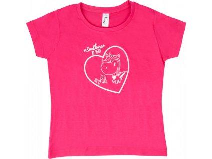 Tričko Soulhorse PFIFF, dětské, pink