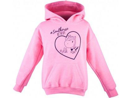 Mikina Soulhorse PFIFF, dětská, pink