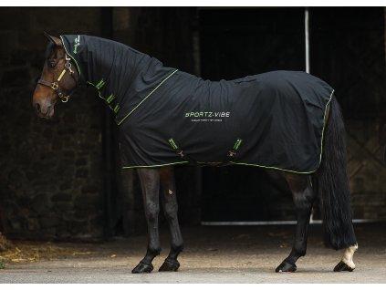 Deka masážní SPORTZ-VIBE Horseware, black/black/green