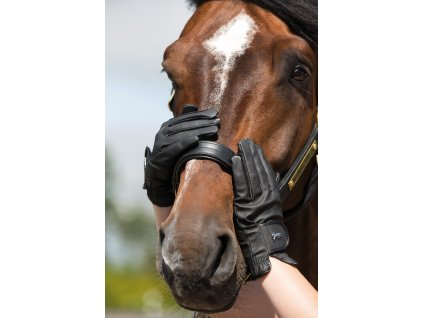 Rukavice Heritage Horseware, unisex, černé