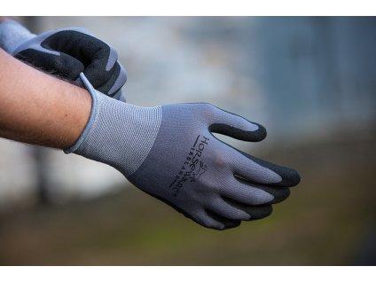 Rukavice pracovní Supreme Grip Horseware, grey/black