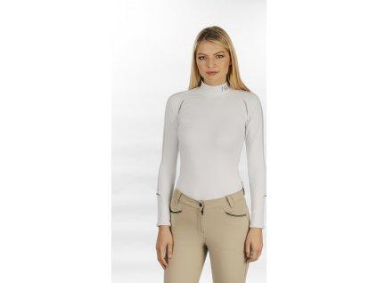 Sportovní tričko Base Layer Horseware, dámské, bílé