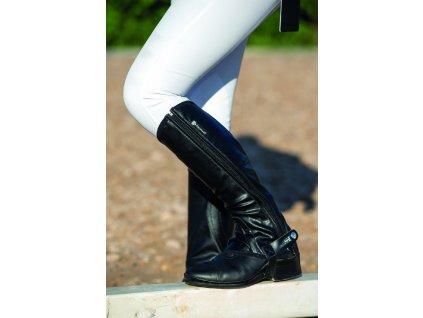 Minichapsy Tech Stretch Horseware, standard, černé