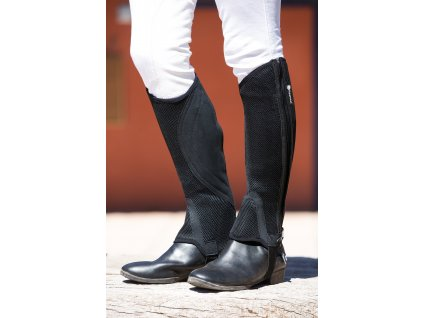 Minichapsy Horseware air-stretch, krátké, černé