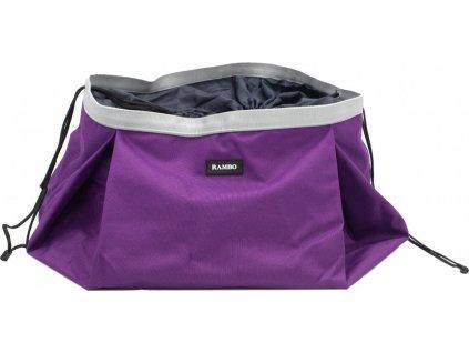 Taška na muesli pro koně Rambo Horseware, Purple/Silver