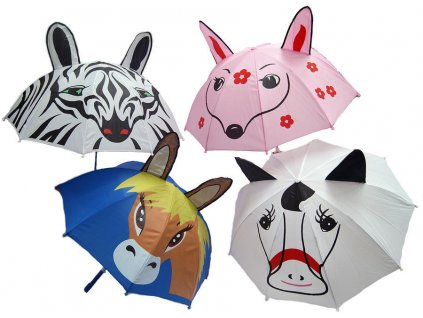 Veselý dětský deštník QHP, zebra