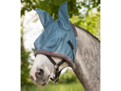 Maska proti hmyzu s ochranou uší Protect Waldhausen, powder blue