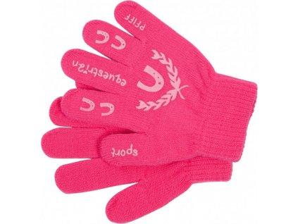 Rukavice PFIFF, zimní, dětské, pink