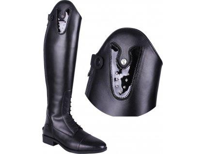 Vyměnitelný díl k botám Sasha Crystal QHP, černý