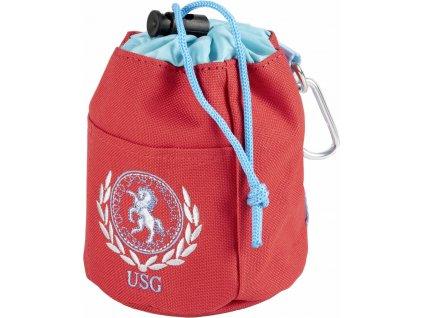 Taška na pamlsky USG, red/blue