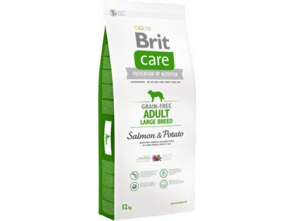 Brit Care Dog Grain-free Adult LB Salmon & Potato 12kg