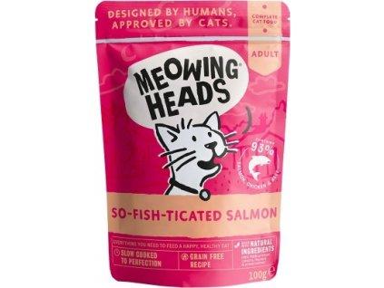 MEOWING HEADS So-fish-ticated Salmon kapsička 100g