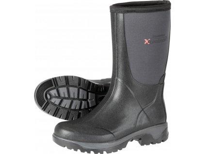 Boty outdoorové Crosslander Boston, unisex, anthracite/black