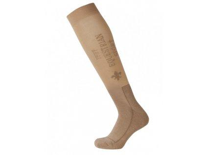 Podkolenky jezdecké PFIFF, light brown/beige