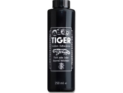 Barva na kůži Tiger, 250 ml, černá
