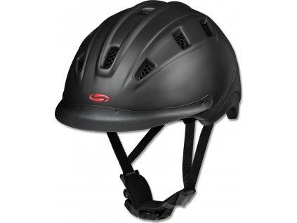 Helma jezdecká SWING H09, černá