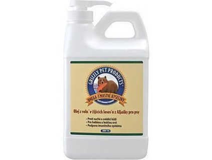 Lososový olej pes Grizzly Wild Salmon 2000ml