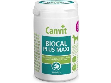 Canvit Biocal Plus pro psy ochucený 500g