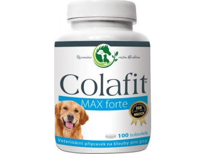Colafit MAX forte na klouby pro psy, 100tbl