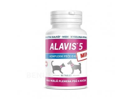 alavis 5 pro psy a kocky 90 tbl.mini