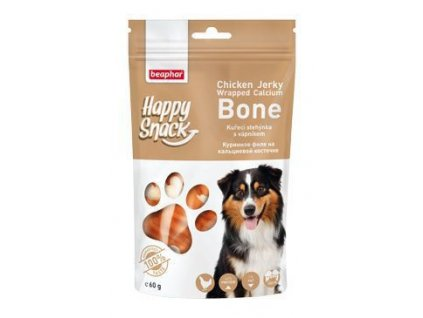 Beaphar Dog Happy Snack poch.kuřecí stehýnka s Ca(60g)