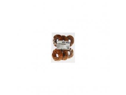 Pochoutka Donut s kuřecím masem 10cm 6ks