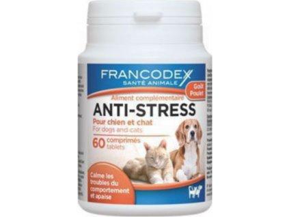 Tablety Anti-stress Francode, pes/kočka, 60tbl