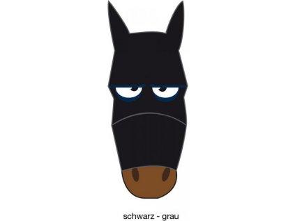 Maska proti hmyzu s motivem PFIFF, black/grey